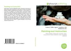 Bookcover of Pointing-out Instruction