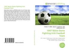 Copertina di 1947 Notre Dame Fighting Irish Football Team