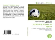 Bookcover of 2008–09 FC Schalke 04 Season