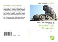Buchcover von Karma Pakshi, 2nd Karmapa Lama