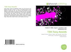 Capa do livro de 15th Tony Awards