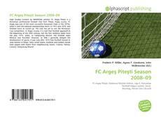 Обложка FC Argeş Piteşti Season 2008–09