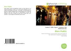 Bookcover of Bien Public