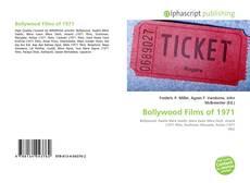 Copertina di Bollywood Films of 1971