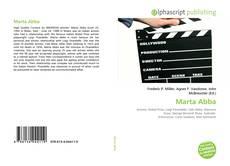 Capa do livro de Marta Abba