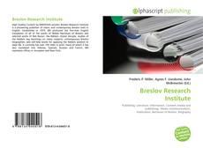 Breslov Research Institute的封面