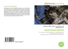 Bookcover of Louis-Simon Boizot