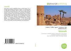 Bookcover of Ummah