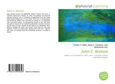 Borítókép a  John C. Watson - hoz