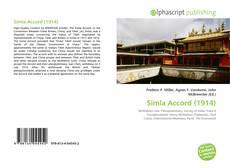 Bookcover of Simla Accord (1914)
