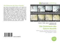 Capa do livro de 34e Cérémonie des Saturn Awards