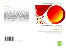 Bookcover of Carl Busch