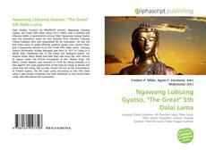 "Borítókép a  Ngawang Lobsang Gyatso, ""The Great"" 5th Dalai Lama - hoz"