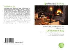 Christmas in July kitap kapağı