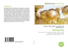 Bookcover of Boxing Day