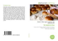 Portada del libro de St John's Eve