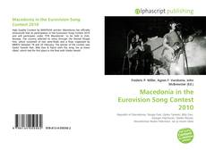 Copertina di Macedonia in the Eurovision Song Contest 2010