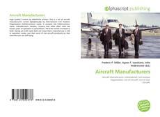 Capa do livro de Aircraft Manufacturers