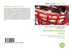 Couverture de 1994 Miami Dolphins season