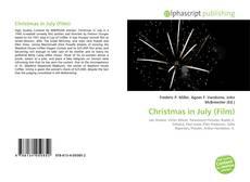 Christmas in July (Film) kitap kapağı