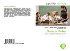 Обложка Chaîne de Markov