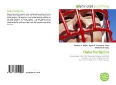 Bookcover of Duke Pettijohn