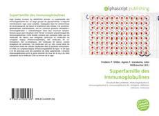 Buchcover von Superfamille des Immunoglobulines