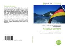 Copertina di Caucasus Germans