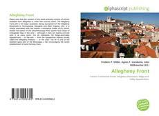Allegheny Front kitap kapağı
