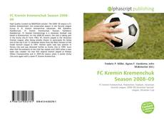 Bookcover of FC Kremin Kremenchuk Season 2008–09