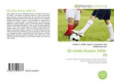 Bookcover of UE Lleida Season 2008–09