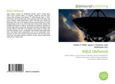 Borítókép a  KQLZ (defunct) - hoz