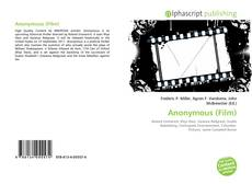 Bookcover of Anonymous (Film)