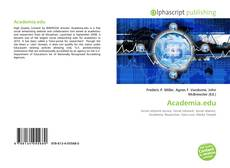 Bookcover of Academia.edu