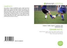 Capa do livro de Llanelli A.F.C.