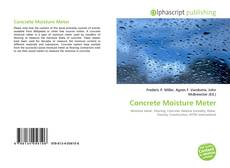 Bookcover of Concrete Moisture Meter