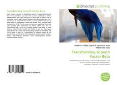 Capa do livro de Transforming Growth Factor Beta