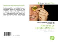 Portada del libro de Minister for Co-ordination of Defence