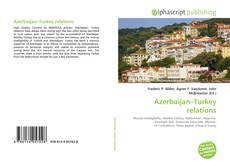 Capa do livro de Azerbaijan–Turkey relations