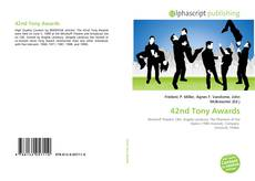 Couverture de 42nd Tony Awards