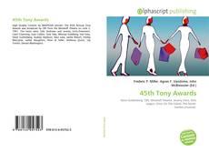 Couverture de 45th Tony Awards