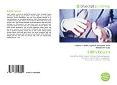 Обложка Edith Cowan