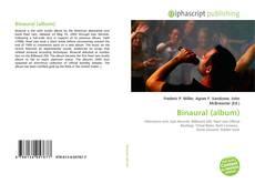 Borítókép a  Binaural (album) - hoz