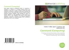 Bookcover of Command (Computing)
