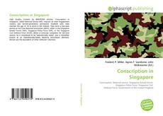 Capa do livro de Conscription in Singapore
