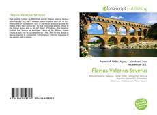 Couverture de Flavius Valerius Severus