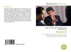 Portada del libro de Durban III