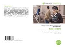 Capa do livro de Franco Nero
