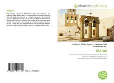 Buchcover von Maron