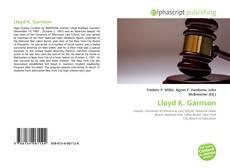 Lloyd K. Garrison kitap kapağı